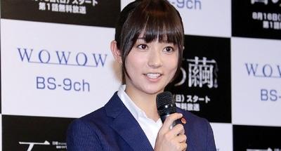 木村文乃/Fumino Kimura, Aug 05, 2015 : WOWOWのドラマ「連続ドラマW 石の繭(まゆ)」の制作発表記者会見