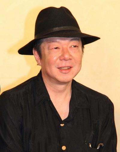 古田新太/Arata Furuta, May 09, 2013 : 舞台「盲導犬」「唐版 滝の白糸」の合同制作発表=2013年5月9日撮影