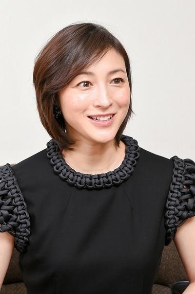 広末涼子/Hirosue Ryoko, Jan 2016 : 食育について語った映画「はなちゃんのみそ汁」で主演する広末涼子さん
