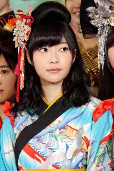 指原莉乃/Rino Sashihara(HKT48), Apr 08, 2015 : 「HKT48指原莉乃座長公演」の会見に登場した指原莉乃さん=2015年4月8日撮影