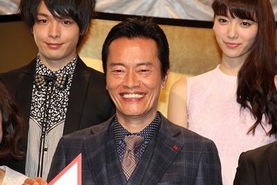 遠藤憲一/Kenichi Endo, Jan 17, 2016 : 連続ドラマ「お義父さんと呼ばせて」の制作発表会見