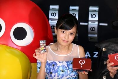 小島瑠璃子/Ruriko Kojima, Jul 06, 2015 : 「新・おもちゃのカンヅメお披露目イベント」に登場した小島瑠璃子さん=2015年7月6日撮影