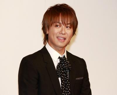 TAKAHIRO(EXILE), May 12, 2017 : 舞台「MOJO(モジョ)」の会見に登場した「EXILE」のTAKAHIROさん=2017年5月12日撮影