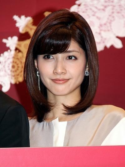 内田有紀/Yuki Uchida, Jan 07, 2013 : 連続ドラマ「サキ」の制作会見に登場=2013年1月7日撮影