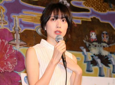 戸田恵梨香, Apr 05, 2017 : 4月スタートの連続ドラマ「リバース」のトークイベント=2017年4月5日撮影