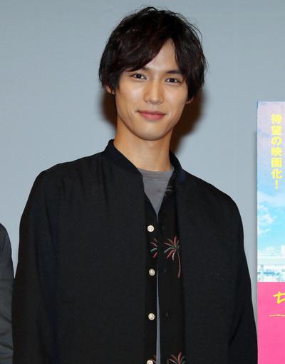 福士蒼汰, May 25, 2017 : 名古屋市内で行われた映画「ちょっと今から仕事やめてくる」の舞台あいさつ=2017年5月25日撮影