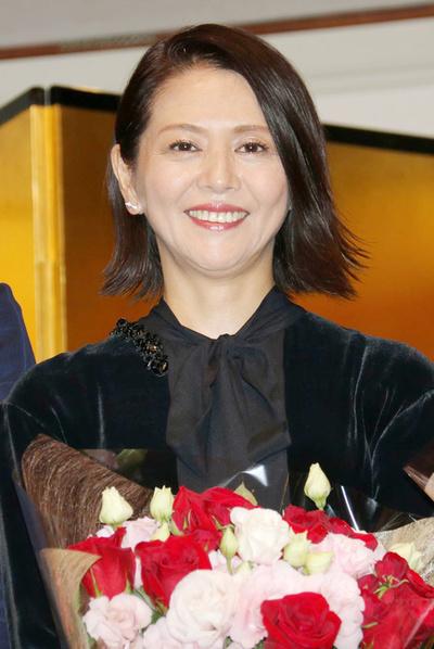 小泉今日子, Sep 14, 2017 : 「第33回講談社エッセイ賞」の贈呈式に出席した小泉今日子さん=2017年9月14日撮影