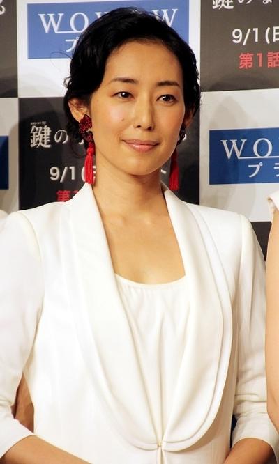 木村多江/Tae Kimura, Aug 27, 2013 : 「鍵のない夢を見る」の制作発表記者会見=2013年8月27日撮影