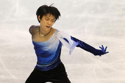 羽生結弦/Yuzuru Hanyu (JPN), DECEMBER 9, 2011 - Figure Skating : Yuzuru Hanyu of Japan performs his short program in the Men's competition during ISU Grand Prix of Figure Skating final at La Pavillon de la Jeunesse in Quebec City, Canada. (Photo by Yusuke Nakanishi/AFLO SPORT) [1090]