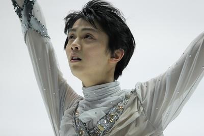 羽生結弦/Yuzuru Hanyu, DECEMBER 24, 2011 - Figure Skating : All Japan Figure Skating Championship 2011, Men's Single Free Skating at Namihaya Dome, Osaka, Japan.  (Photo by AFLO SPORT) [1080]