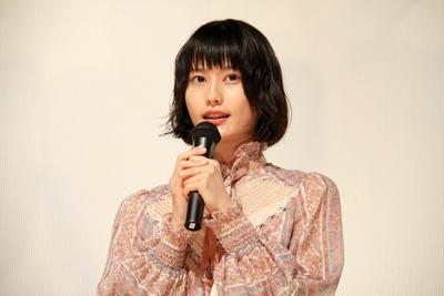橋本愛, Apr 23, 2017 : 映画「PARKS パークス」の初日舞台あいさつ=2017年4月23日撮影