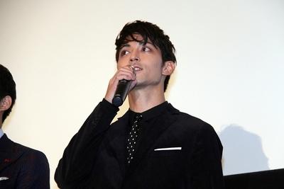 永瀬匡, Oct 01, 2016 : 東京都内で開かれた映画「CUTIE HONEY-TEARS-」初日舞台あいさつ