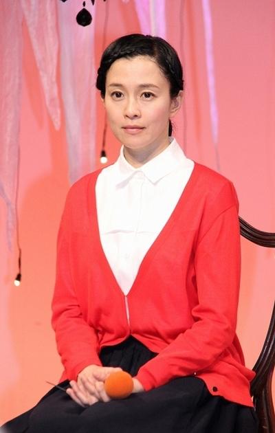 坂井真紀/Maki Sakai, Jan 08, 2015 : ドラマ「怪奇恋愛作戦」の会見=2015年1月8日撮影