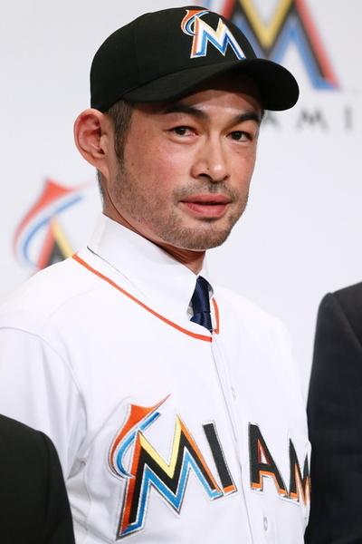 イチロー/Ichiro Suzuki (Marlins), JANUARY 29, 2015 - MLB : Miami Marlins newly signed outfielder Ichiro Suzuki attends an introductory news conference in Tokyo, Japan. (Photo by Sho Tamura/AFLO SPORT) [1180]