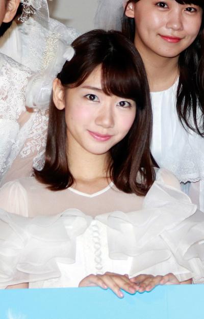 柏木由紀(AKB48/NGT48), May 01, 2017 : ニューシングル「願いごとの持ち腐れ」ミュージックビデオ先行試写上映会=2017年5月1日撮影