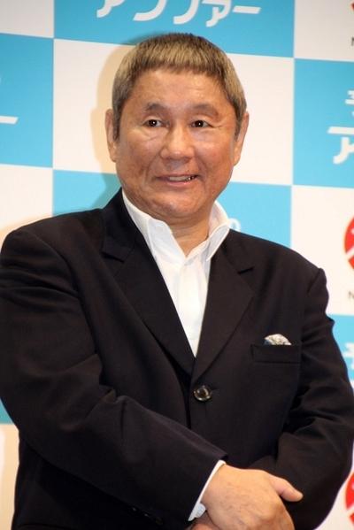 ビートたけし/Beat Takeshi, Nov 14, 2015 : 「第9回アンチエイジング大賞2015」授賞式=2015年11月14日撮影