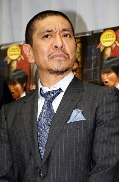 松本人志/Hitoshi Matsumoto(ダウンタウン/Down Town), Apr 29, 2014 : 故郷・尼崎ですべらない話を生披露したダウンタウンの松本人志さん=2014年4月29日撮影