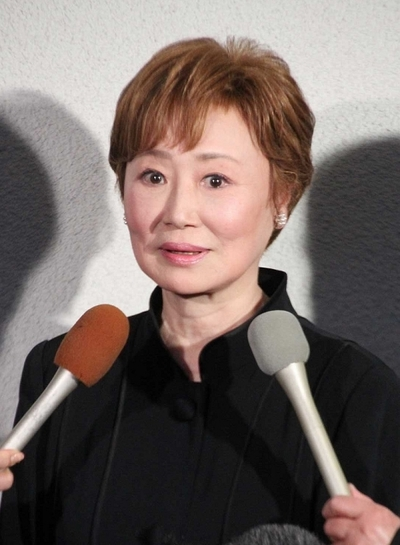 Mitsuko Mori's Funeral, Dec 07, 2012 : 森光子さん本葬=2012年12月7日撮影 浜木綿子さん