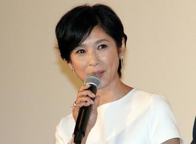黒木瞳, Jun 25, 2016 : 東京・丸の内ピカデリーにて行われた映画「嫌な女」の初日舞台あいさつ