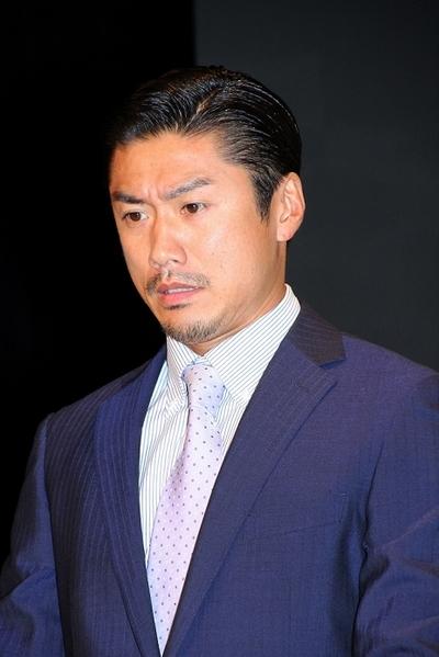 金子賢/Ken Kaneko, Oct 03, 2013 : ドラマ「クロコーチ」(TBS系)の制作発表会見