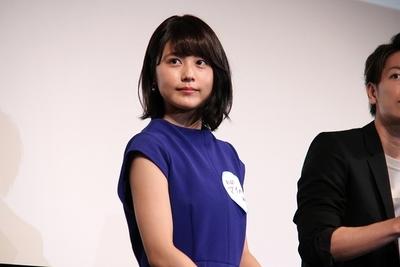 有村架純, Oct 06, 2016 : 東京都内で開催された映画「何者」ガールズ試写イベント