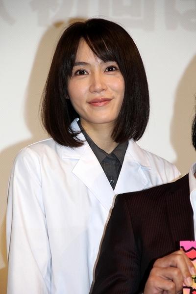 山口紗弥加/Sayaka Yamaguchi, Apr 11, 2015 : 連続ドラマ「ヤメゴク~ヤクザやめて頂きます~」の特別試写会=2015年4月11日撮影