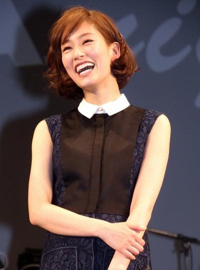 水川あさみ/Asami Mizukawa, Mar 14, 2013 : 「UULAナイト!」に登場した水川あさみさん=2013年3月14日撮影