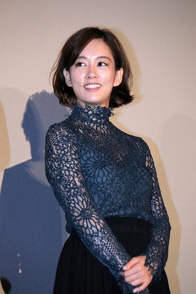 水川あさみ, Aug 27, 2016 : 東京・TOHOシネマズ 日劇にて行われた映画「後妻業の女」の初日舞台挨拶