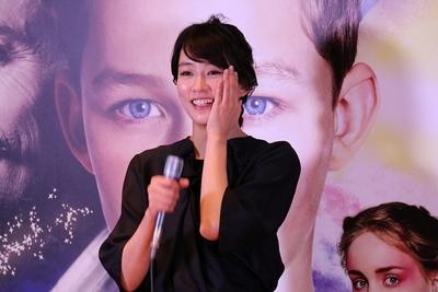 水川あさみ/Asami Mizukawa, Sep 17, 2015 : 日本語吹き替えを担当する映画「PAN ~ネバーランド、夢のはじまり~」(ジョー・ライト監督)の公開アフレコイベント
