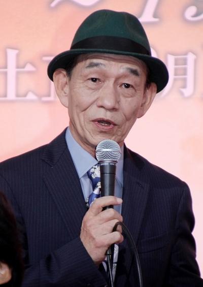 笹野高史/Takashi Sasano, Oct 31, 2013 : 2夜連続スペシャルドラマ「オリンピックの身代金」(テレビ朝日系)の会見が31日、東京・六本木の同局本社で行われ、豪華出演陣が集結した。